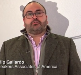 Felip Gallardo – SPEAKERS ASSOCIATES OF AMERICA